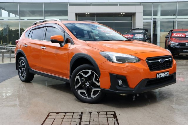 Used Subaru XV G5X MY18 2.0i-S Lineartronic AWD Liverpool, 2017 Subaru XV G5X MY18 2.0i-S Lineartronic AWD Sunshine Orange 7 Speed Constant Variable Wagon