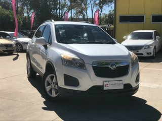 2013 Holden Trax TJ MY14 LS White 6 Speed Automatic Wagon.