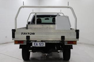 2016 Mitsubishi Triton MQ MY17 GLX 4x2 Grey 5 Speed Sports Automatic Cab Chassis