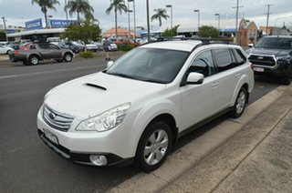 2012 Subaru Outback MY12 2.0D AWD White 6 Speed Manual Wagon