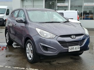 2012 Hyundai ix35 LM2 Active Grey 5 Speed Manual Wagon.