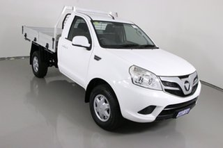 2015 Foton Tunland P201 MY15 (4x2) White 5 Speed Manual Cab Chassis Tray