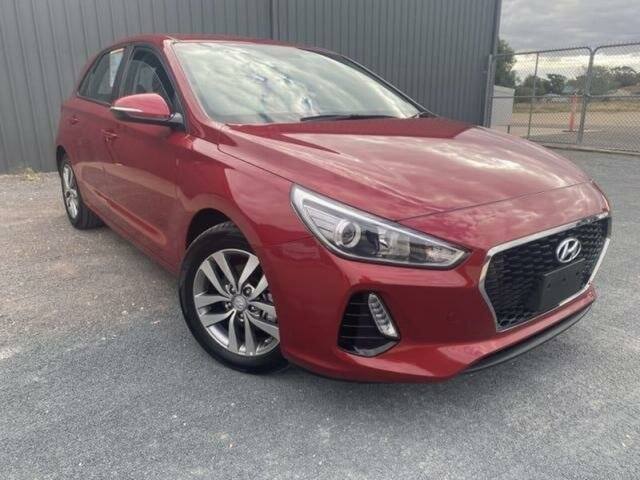 Used Hyundai i30 PD2 MY19 Active Wangaratta, 2019 Hyundai i30 PD2 MY19 Active Red 6 Speed Automatic Hatchback