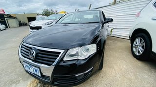 2009 Volkswagen Passat Type 3C MY10 147TSI Black 6 Speed Sports Automatic Sedan