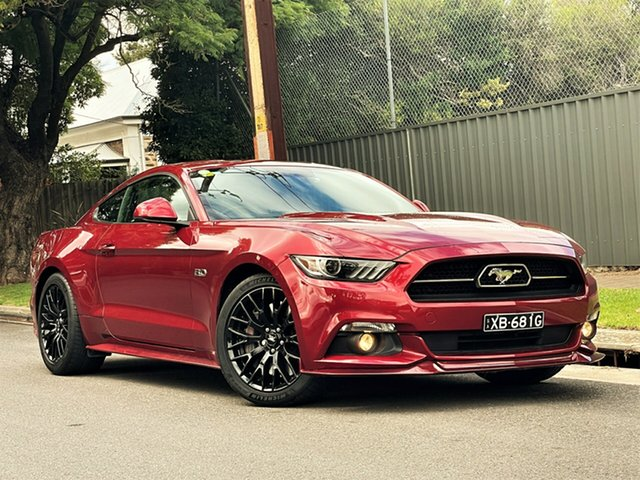 Used Ford Mustang FM GT Fastback SelectShift Hyde Park, 2016 Ford Mustang FM GT Fastback SelectShift Red 6 Speed Sports Automatic Fastback