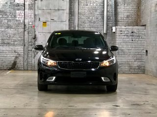 2017 Kia Cerato YD MY18 Sport+ Black 6 Speed Sports Automatic Hatchback.
