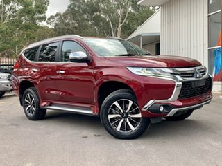2017 Mitsubishi Pajero Sport QE MY17 GLX Red 8 Speed Sports Automatic Wagon.