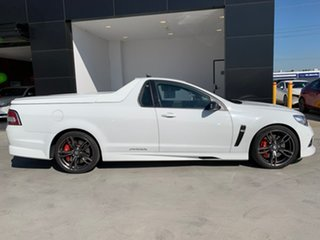 2015 Holden Special Vehicles Maloo Gen-F MY15 R8 Heron White 6 Speed Manual Utility.