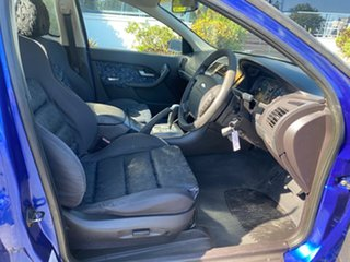 2003 Ford Falcon BA XLS Super Cab Blue 4 Speed Sports Automatic Cab Chassis