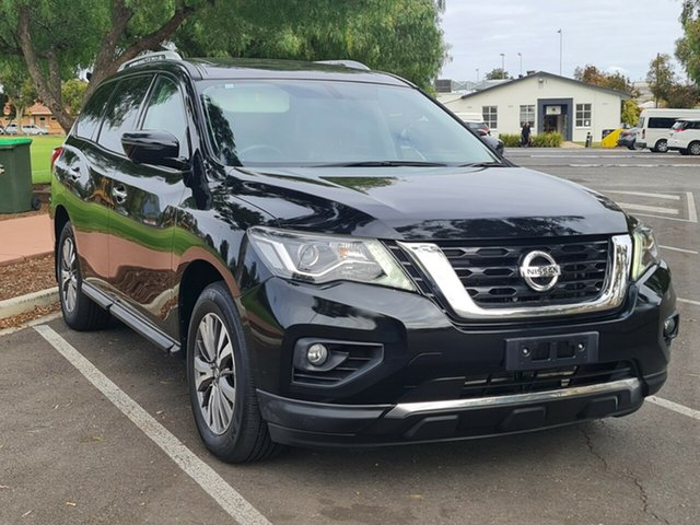 Used Nissan Pathfinder R52 Series II MY17 ST-L X-tronic 2WD Nailsworth, 2017 Nissan Pathfinder R52 Series II MY17 ST-L X-tronic 2WD Black 1 Speed Constant Variable Wagon