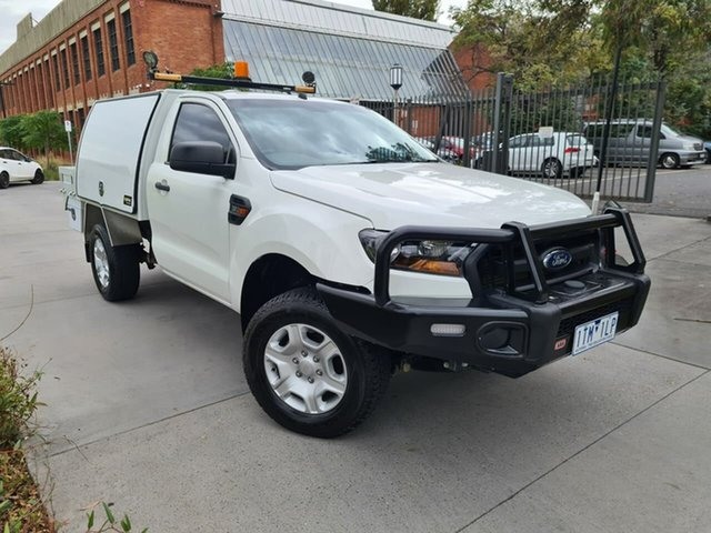 Used Ford Ranger PX MkII XL South Melbourne, 2016 Ford Ranger PX MkII XL White 6 Speed Sports Automatic Cab Chassis