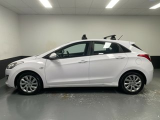 2014 Hyundai i30 GD2 Active White 6 Speed Manual Hatchback