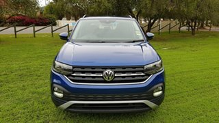 2020 Volkswagen T-Cross C1 MY20 85TSI DSG FWD Life Reef Blue Metallic/black Cloth 7 Speed.