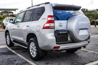 2017 Toyota Landcruiser Prado GDJ150R Kakadu Silver 6 Speed Sports Automatic Wagon.