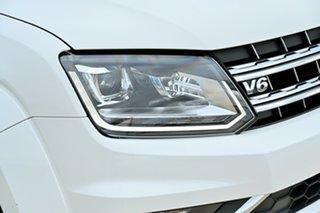 2017 Volkswagen Amarok 2H MY17.5 TDI550 4MOTION Perm Highline White 8 Speed Automatic Utility.