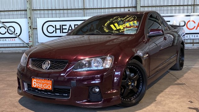 Used Holden Ute VE II MY12.5 SV6 Z Series Rocklea, 2012 Holden Ute VE II MY12.5 SV6 Z Series Alchemy 6 Speed Sports Automatic Utility