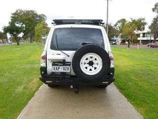 2003 Mitsubishi Pajero NP GLS White Manual Wagon