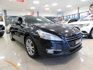 2013 Peugeot 508 MY13 GT Touring Black 6 Speed Sports Automatic Wagon.