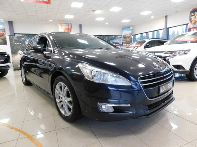 Used Peugeot 508 MY13 GT Touring Wonthaggi, 2013 Peugeot 508 MY13 GT Touring Black 6 Speed Sports Automatic Wagon