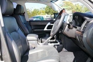 2017 Toyota Landcruiser VDJ200R Sahara Grey 6 Speed Sports Automatic Wagon