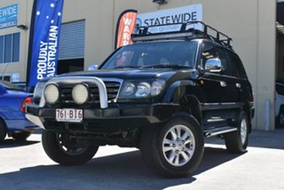 2005 Toyota Landcruiser UZJ100R GXL (4x4) Black 5 Speed Automatic Wagon.
