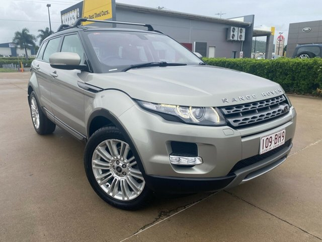 Used Land Rover Range Rover Evoque L538 MY13 SD4 CommandShift Pure Townsville, 2013 Land Rover Range Rover Evoque L538 MY13 SD4 CommandShift Pure Gold/140613 6 Speed