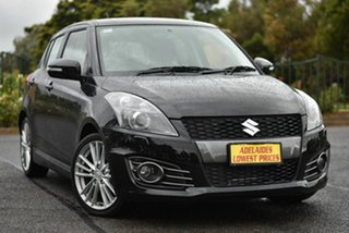 2012 Suzuki Swift FZ Sport Black 6 Speed Manual Hatchback.