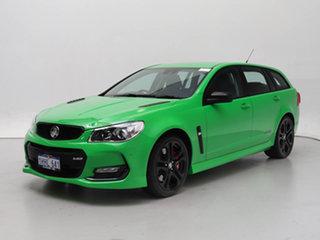 2017 Holden Commodore VF II SS-V Redline Green 6 Speed Automatic Sportswagon.