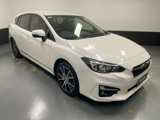 Used Subaru Impreza G5 MY19 2.0i-L CVT AWD Cardiff, 2019 Subaru Impreza G5 MY19 2.0i-L CVT AWD White 7 Speed Constant Variable Hatchback