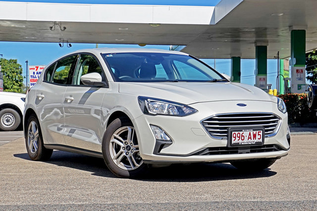 Used Ford Focus SA 2020.25MY Trend Capalaba, 2019 Ford Focus SA 2020.25MY Trend Metropolis White 8 Speed Automatic Hatchback