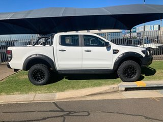 2017 Ford Ranger PX MkII MY18 XL 3.2 Plus (4x4) White 6 Speed Automatic Crew Cab Utility.