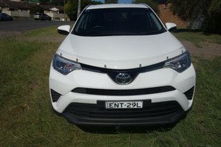 2016 Toyota RAV4 ZSA42R GX 2WD White 7 Speed Constant Variable Wagon.