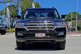 2019 Toyota Landcruiser VDJ200R VX Black 6 Speed Sports Automatic Wagon.