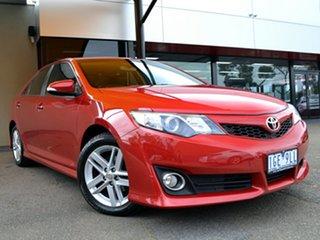 2012 Toyota Camry ASV50R Atara SX Burgundy 6 Speed Sports Automatic Sedan.