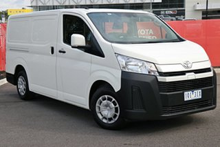 2019 Toyota HiAce KDH201R LWB White 4 Speed Automatic Van.