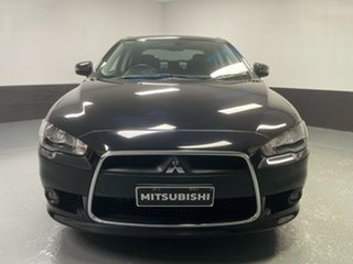 2015 Mitsubishi Lancer CJ MY15 XLS Black 5 Speed Manual Sedan.