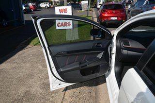 2017 Mitsubishi Lancer CF MY17 Black Edition (es) White 6 Speed CVT Auto Sequential Sedan
