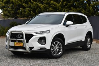 2019 Hyundai Santa Fe TM MY19 Active White 6 Speed Sports Automatic Wagon.