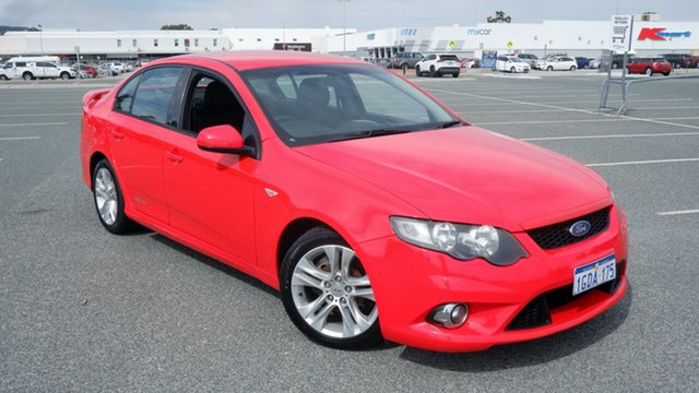 Used Ford Falcon FG XR6 Maddington, 2009 Ford Falcon FG XR6 Red 5 Speed Sports Automatic Sedan