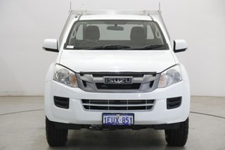 2015 Isuzu D-MAX MY15 SX 4x2 High Ride White 5 Speed Sports Automatic Cab Chassis.