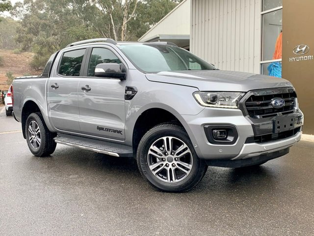 Used Ford Ranger PX MkIII 2020.25MY Wildtrak Clare, 2020 Ford Ranger PX MkIII 2020.25MY Wildtrak Silver 6 Speed Sports Automatic Double Cab Pick Up