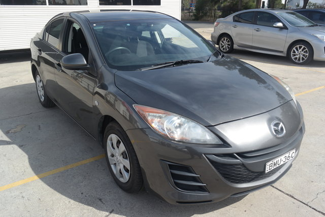 Used Mazda 3 BL10F1 Neo Maryville, 2010 Mazda 3 BL10F1 Neo Grey 6 Speed Manual Sedan