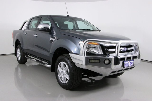 Used Ford Ranger PX XLT 3.2 (4x4) Bentley, 2014 Ford Ranger PX XLT 3.2 (4x4) Grey 6 Speed Manual Double Cab Pick Up