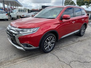 2016 Mitsubishi Outlander ZK MY17 Exceed 4WD Red 6 Speed Constant Variable Wagon