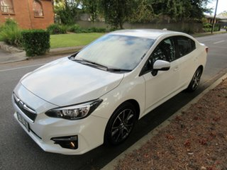 2016 Subaru Impreza G5 MY17 2.0i-L CVT AWD White 7 Speed Constant Variable Sedan