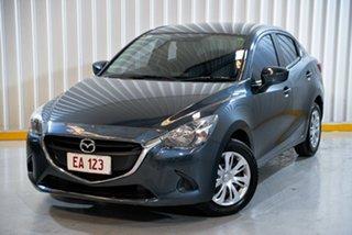 2016 Mazda 2 DL2SA6 Neo SKYACTIV-MT Grey 6 Speed Manual Sedan.