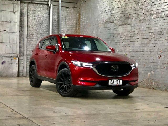 Used Mazda CX-5 KF4WLA Akera SKYACTIV-Drive i-ACTIV AWD Mile End South, 2018 Mazda CX-5 KF4WLA Akera SKYACTIV-Drive i-ACTIV AWD Red 6 Speed Sports Automatic Wagon