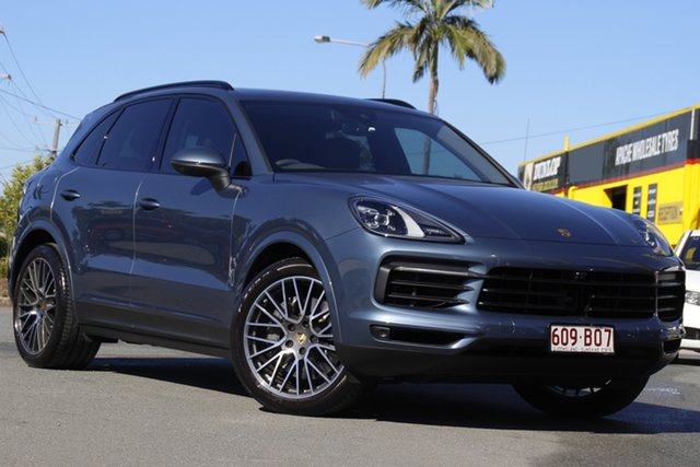 Used Porsche Cayenne 9YA MY19 S Tiptronic Rocklea, 2018 Porsche Cayenne 9YA MY19 S Tiptronic Moonlight Blue 8 Speed Sports Automatic Wagon