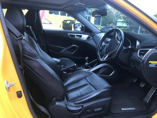 2012 Hyundai Veloster FS + Coupe Yellow 6 Speed Manual Hatchback.