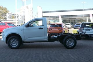 2021 Isuzu D-MAX RG MY21 SX (4x2) Mineral White 6 Speed Manual Cab Chassis